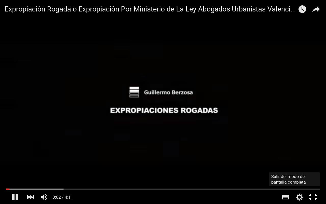 Expropiación Rogada - Abogados Urbanistas Valencia